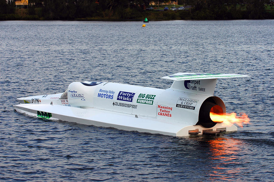 Spirit Of Australia - Самые быстрые катера в мире
