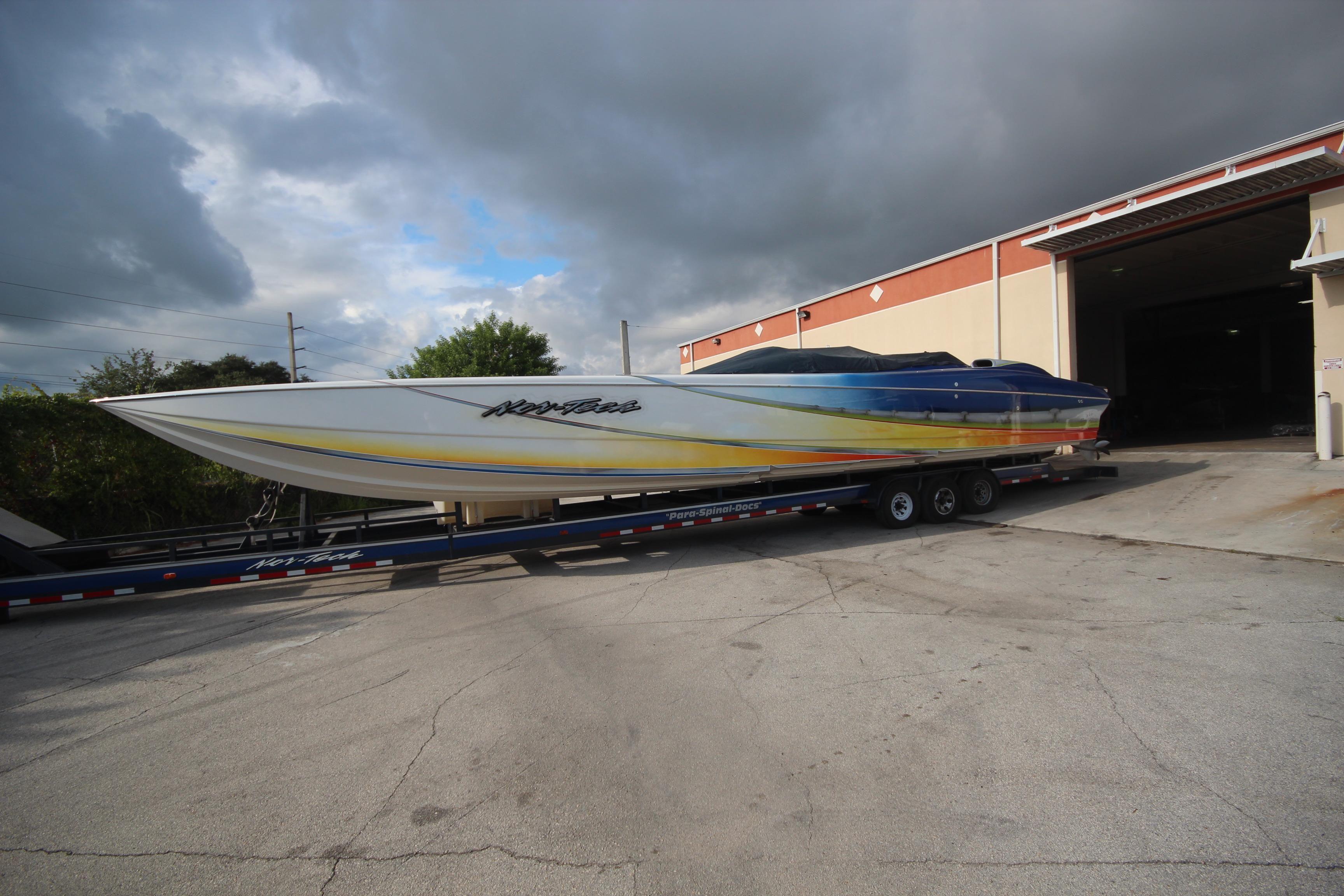 Nor-Tech 5000 - Самые быстрые катера в мире