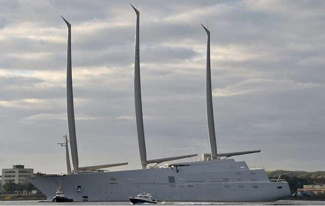 Самая большая парусная яхта