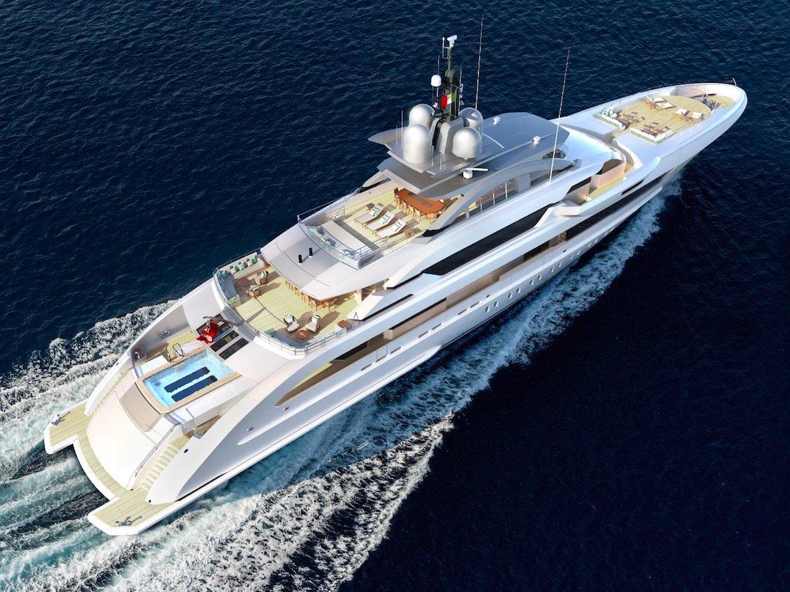 самая большая яхта от Heesen