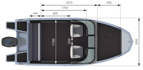 характеристика лодки волжанка 46