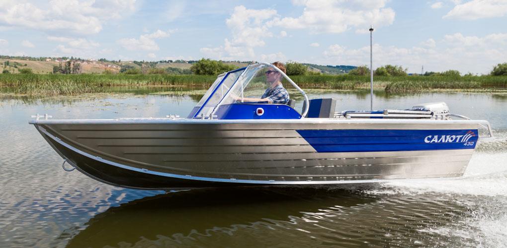 глиссирующая моторная лодка