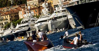 Глиссирующие яхты с флайбриджем