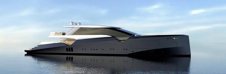 Дизайнерские моторные яхты