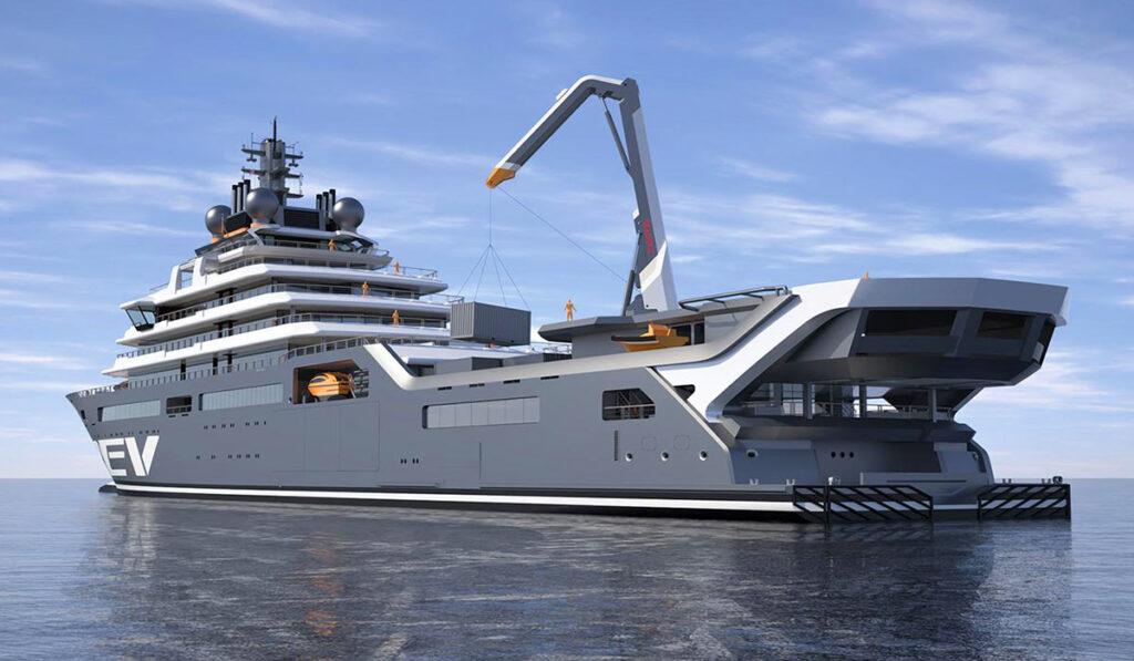 Мена-яхта REV Ocean