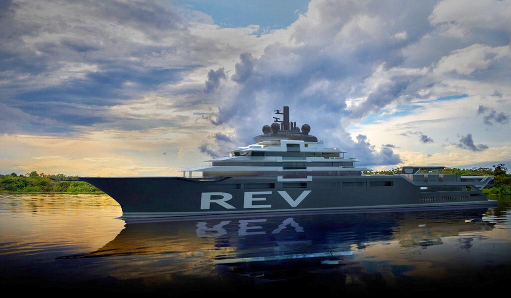 REV Ocean - одна из самых дорогих яхт