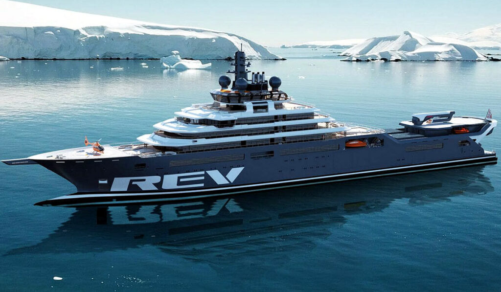 REV Ocean - самая большая яхта в мире