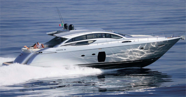 Скоростные моторные яхты