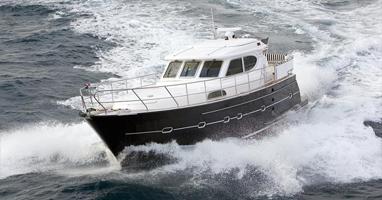 Моторные яхты со стальным корпусом