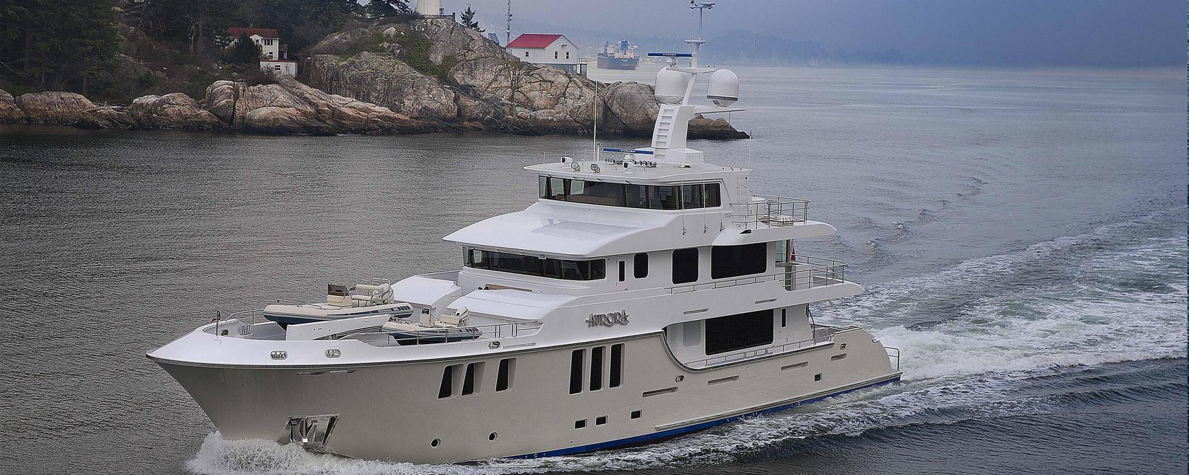 Яхты Nordhavn