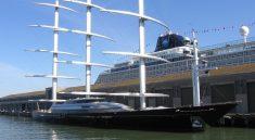 Самая большая парусная яхта в мире