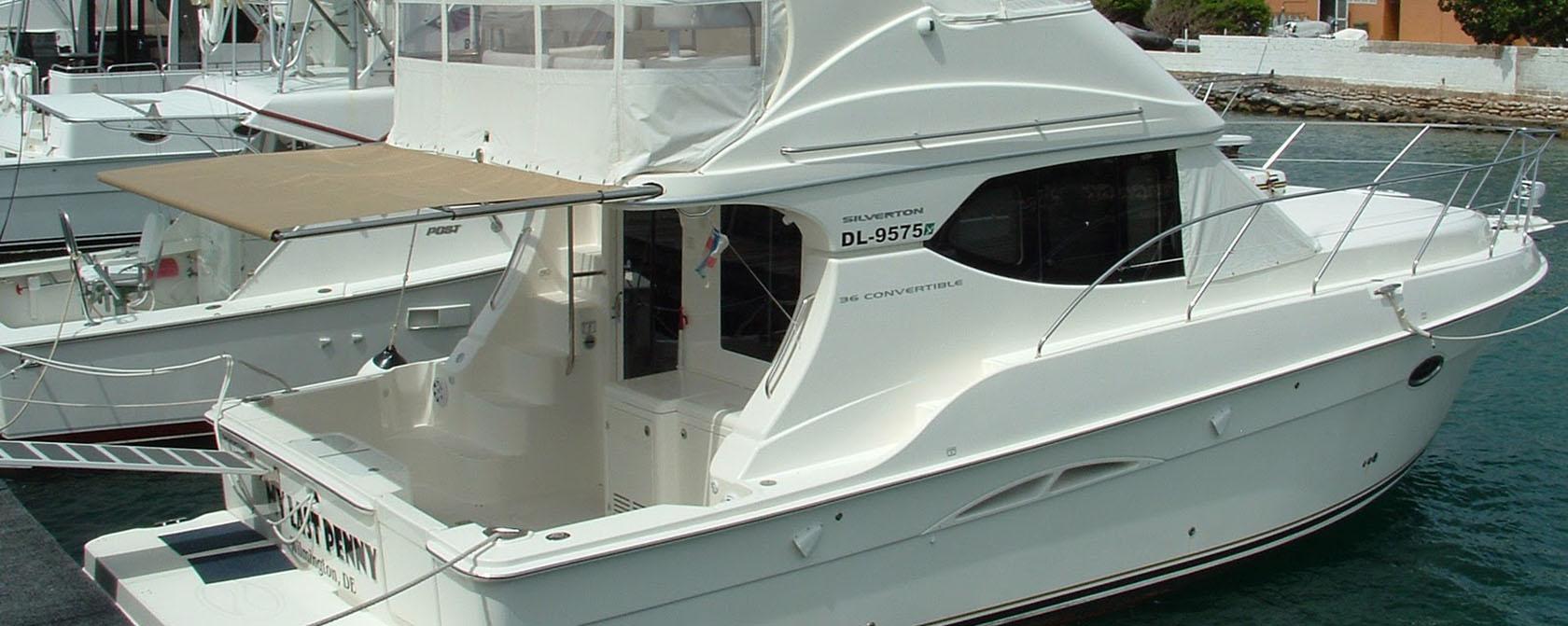 яхты Silverton