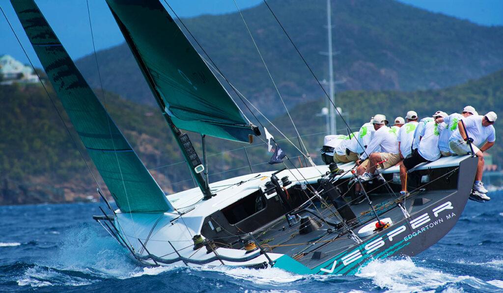 Крейсерско-гоночная яхта фото