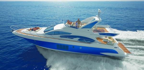 Яхта Azimut 64