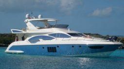 Яхта Azimut 70