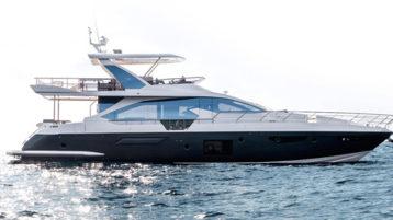 Яхта Azimut 72