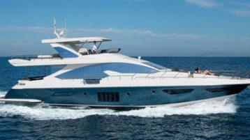 Яхта Azimut 80