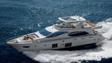 Яхта Azimut 88