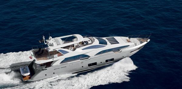 Яхта Azimut Grande 100