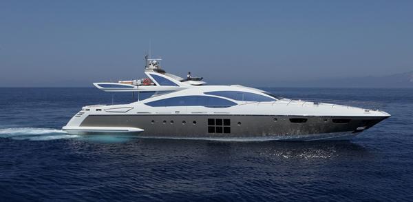Яхта Azimut Grande 120SL