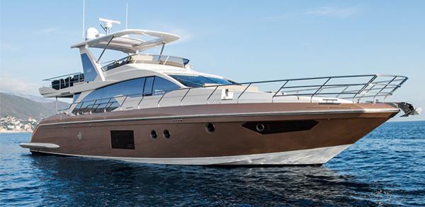 Яхта Azimut 66