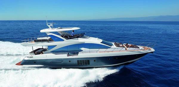 Яхта Azimut Brazilian 83