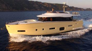 Яхта Azimut Magellano 66