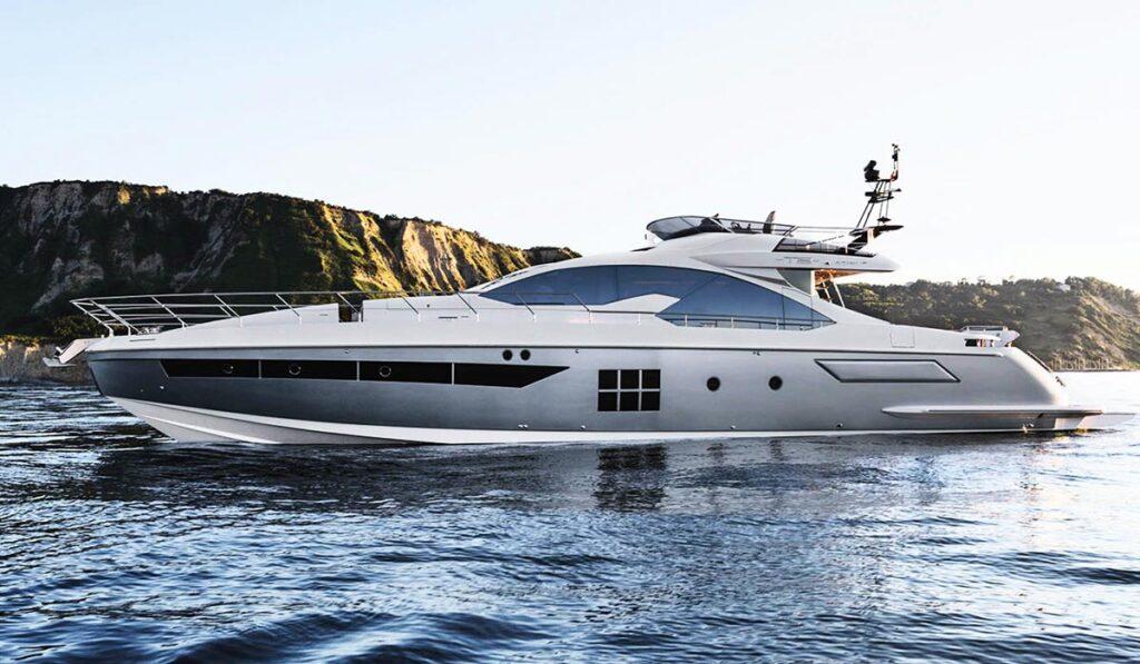 Моторная яхта Б класса фото